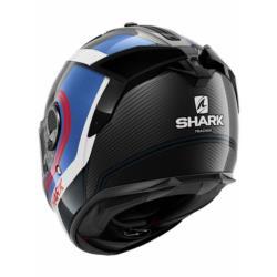 KASK SHARK SPARTAN GT CARBON TRACKER BLU biały/czarny/czerwony/niebieski, rozmiar S
