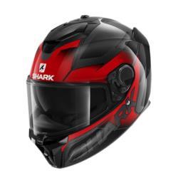Kask SHARK SPARTAN GT CARBON SHESTTER kolor czarny/czerwony/szary