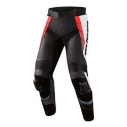 SHIMA Spodnie skórzane STR 2.0 RED FLUO