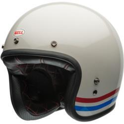 Kask BELL Custom 500 DLX Stripes biały
