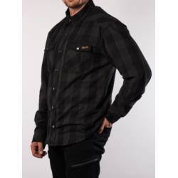 Koszula Broger Alaska Black/Grey